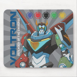 Voltron | Defender of the Universe Mouse Pad