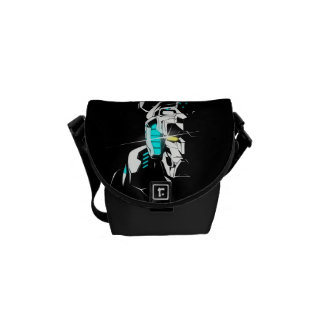 Voltron | Gleaming Eye Silhouette Courier Bag