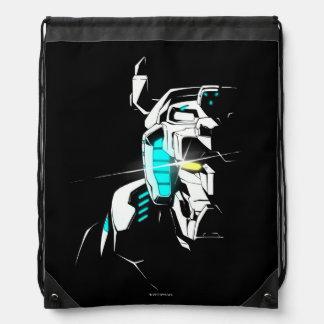 Voltron | Gleaming Eye Silhouette Drawstring Bag