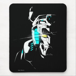 Voltron | Gleaming Eye Silhouette Mouse Mat