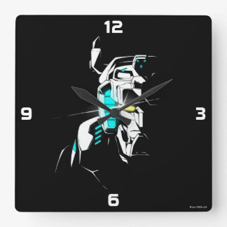 Voltron | Gleaming Eye Silhouette Square Wall Clock