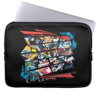 Voltron   Go Voltron Force Laptop Sleeve