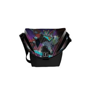 Voltron | Intergalactic Voltron Graphic Messenger Bags