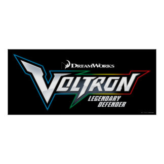 Voltron | Legendary Defender Logo Poster