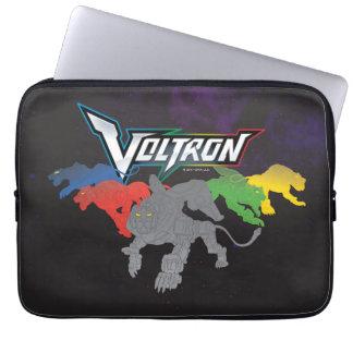 Voltron   Lions Charging Laptop Sleeve