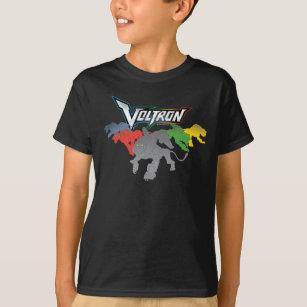 78e56639 Voltron   Lions Charging T-Shirt