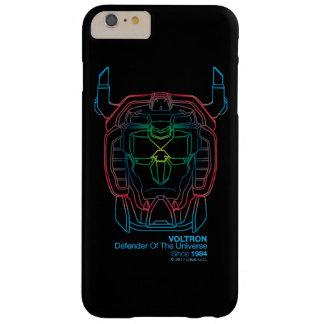 Voltron   Pilot Colors Gradient Head Outline Barely There iPhone 6 Plus Case