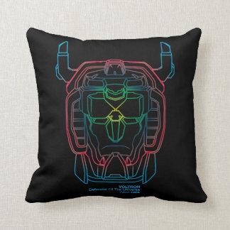 Voltron | Pilot Colors Gradient Head Outline Cushion