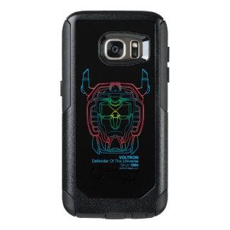 Voltron | Pilot Colors Gradient Head Outline OtterBox Samsung Galaxy S7 Case