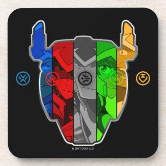 Voltron | Pilots In Voltron Head Coaster