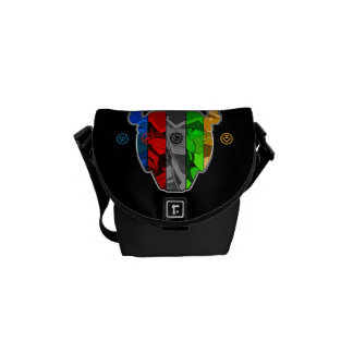 Voltron | Pilots In Voltron Head Commuter Bags