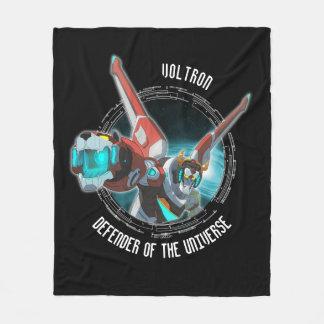 Voltron | Red Lion Plasma Beam Fleece Blanket