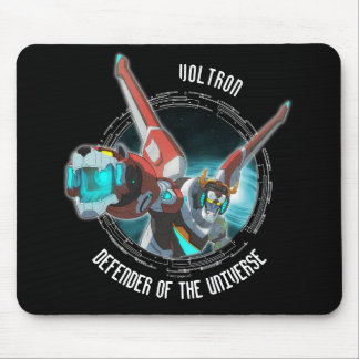 Voltron | Red Lion Plasma Beam Mouse Mat