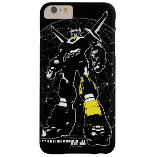Voltron | Silhouette Over Map Barely There iPhone 6 Plus Case
