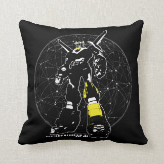 Voltron | Silhouette Over Map Cushion