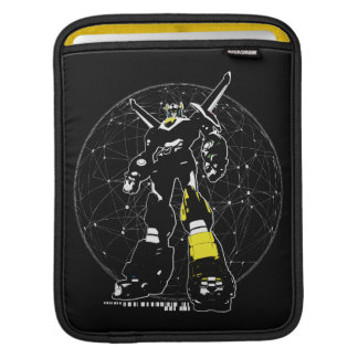 Voltron | Silhouette Over Map iPad Sleeve