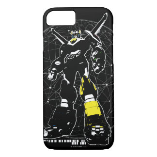 Voltron | Silhouette Over Map iPhone 8/7 Case