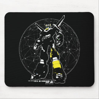 Voltron | Silhouette Over Map Mouse Mat