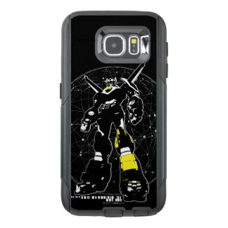 Voltron | Silhouette Over Map OtterBox Samsung Galaxy S6 Case