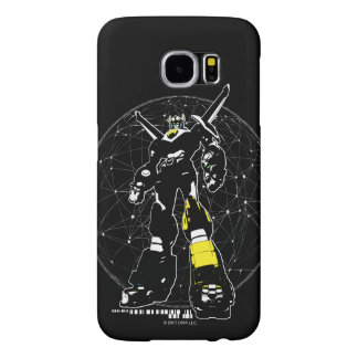 Voltron | Silhouette Over Map Samsung Galaxy S6 Cases