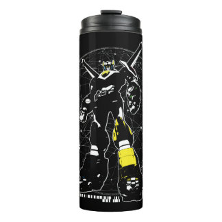 Voltron | Silhouette Over Map Thermal Tumbler