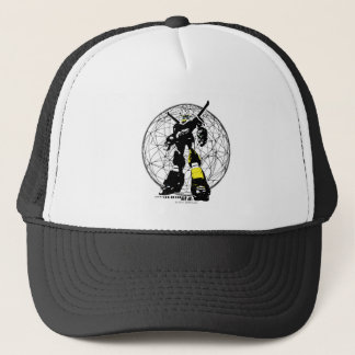Voltron | Silhouette Over Map Trucker Hat