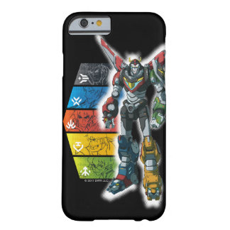 Voltron | Voltron And Pilots Graphic Barely There iPhone 6 Case