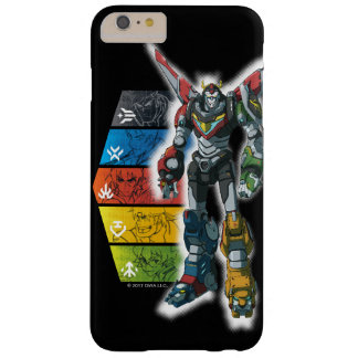 Voltron | Voltron And Pilots Graphic Barely There iPhone 6 Plus Case