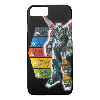 Voltron | Voltron And Pilots Graphic iPhone 8/7 Case