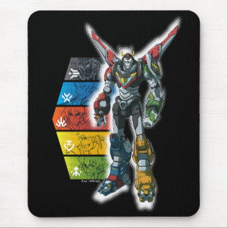 Voltron | Voltron And Pilots Graphic Mouse Mat