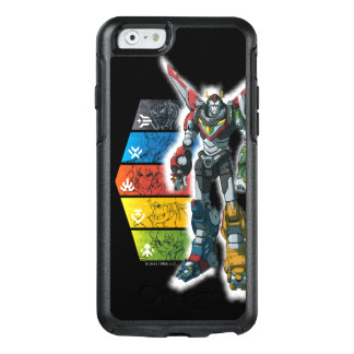 Voltron | Voltron And Pilots Graphic OtterBox iPhone 6/6s Case