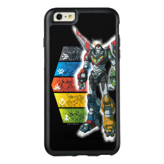 Voltron | Voltron And Pilots Graphic OtterBox iPhone 6/6s Plus Case