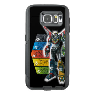 Voltron | Voltron And Pilots Graphic OtterBox Samsung Galaxy S6 Case