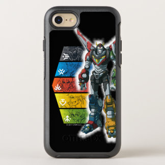 Voltron | Voltron And Pilots Graphic OtterBox Symmetry iPhone 8/7 Case