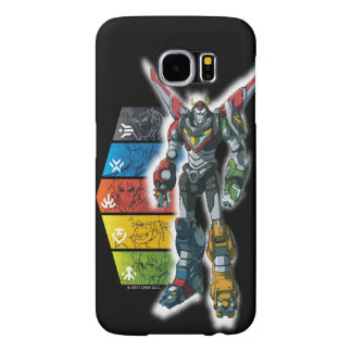 Voltron | Voltron And Pilots Graphic Samsung Galaxy S6 Cases