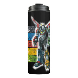 Voltron | Voltron And Pilots Graphic Thermal Tumbler