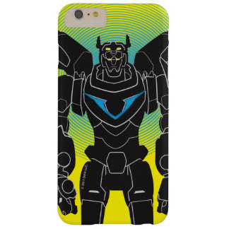 Voltron | Voltron Black Silhouette Barely There iPhone 6 Plus Case