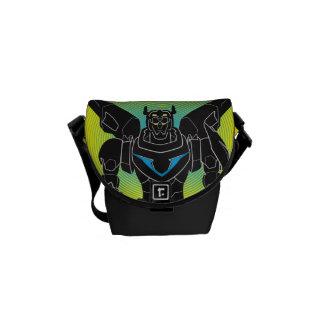 Voltron | Voltron Black Silhouette Commuter Bags