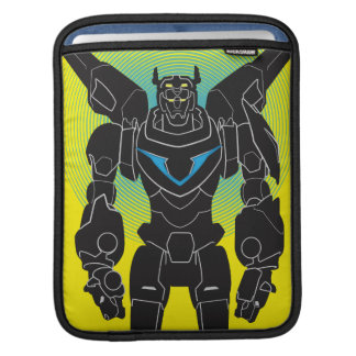Voltron | Voltron Black Silhouette iPad Sleeve