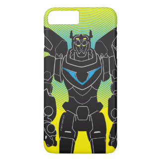 Voltron | Voltron Black Silhouette iPhone 8 Plus/7 Plus Case