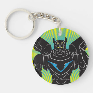 Voltron | Voltron Black Silhouette Key Ring
