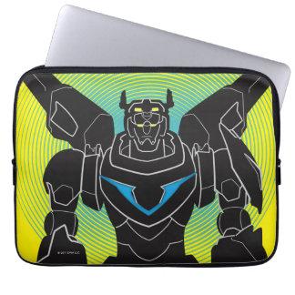 Voltron   Voltron Black Silhouette Laptop Sleeve