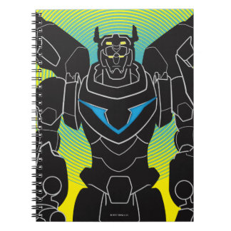 Voltron | Voltron Black Silhouette Notebooks