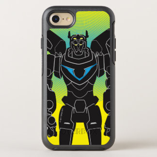 Voltron | Voltron Black Silhouette OtterBox Symmetry iPhone 8/7 Case