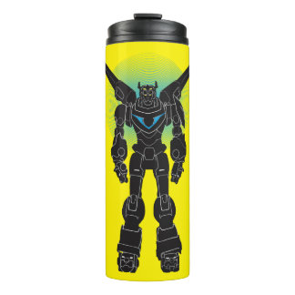 Voltron | Voltron Black Silhouette Thermal Tumbler