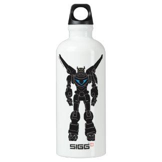 Voltron | Voltron Black Silhouette Water Bottle