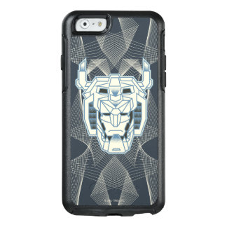 Voltron | Voltron Head Blue and White Outline OtterBox iPhone 6/6s Case
