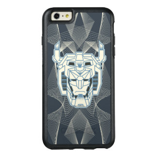 Voltron | Voltron Head Blue and White Outline OtterBox iPhone 6/6s Plus Case