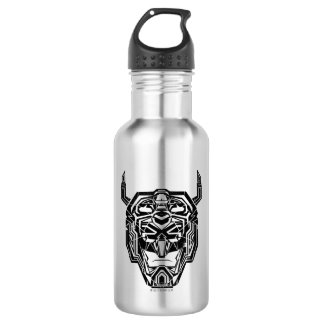 Voltron | Voltron Head Fractured Outline 532 Ml Water Bottle