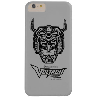 Voltron | Voltron Head Fractured Outline Barely There iPhone 6 Plus Case